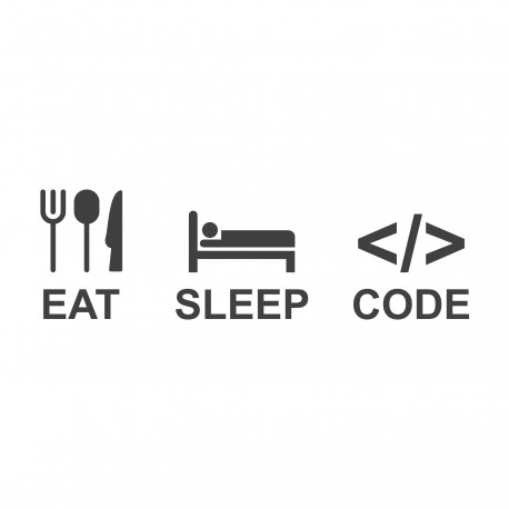 EAT SLEEP CODE