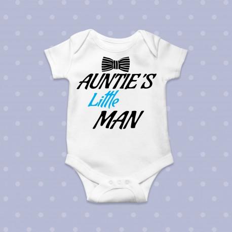 Body bebe AUNTIE'S LITTLE MAN