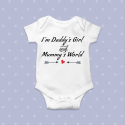Body bebe daddys girl mummys world