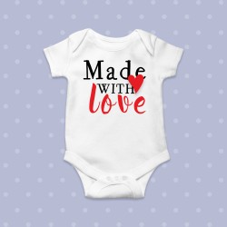 Body bebe Conceput cu dragoste - Made with love