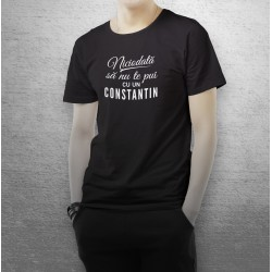 Tricou funny Nu te pune cu un Constantin