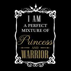 Tricou I am Princess and warrior