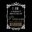 Tricou I am Princess and warrior