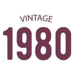 Tricou personalizat VINTAGE 1980