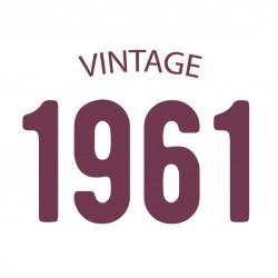 Tricou personalizat VINTAGE 1961