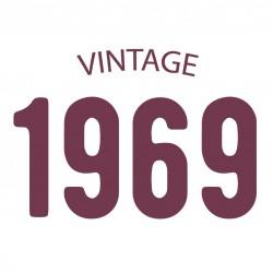 Tricou personalizat VINTAGE 1969
