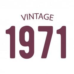 Tricou personalizat VINTAGE 1971