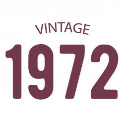 Tricou personalizat VINTAGE 1972