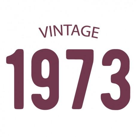 Tricou personalizat VINTAGE 1973