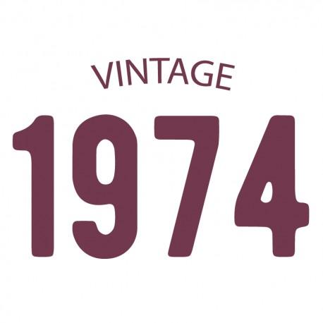 Tricou personalizat VINTAGE 1974