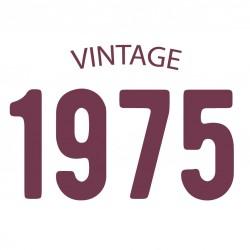 Tricou personalizat VINTAGE 1975