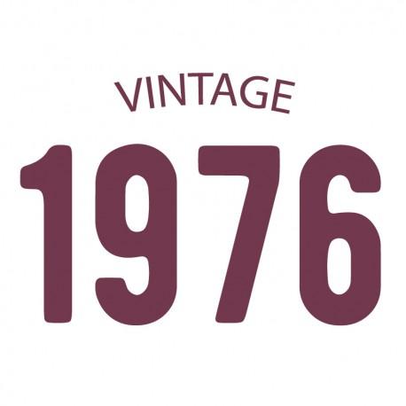 Tricou personalizat VINTAGE 1976