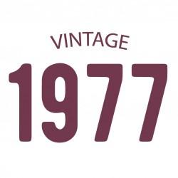 Tricou personalizat VINTAGE 1977