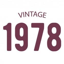 Tricou personalizat VINTAGE 1978