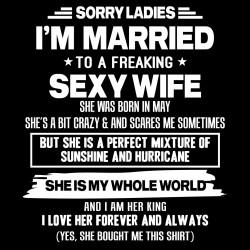 Tricou Sorry Ladies