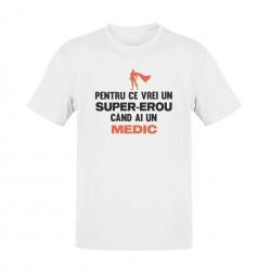 Tricou Super-erou Medic